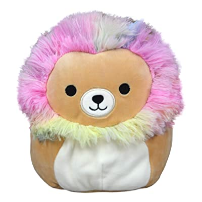 Squishmallow 8 Inch Leonard The Rainbow Lion Stuffed Animal, Super Pillow Soft Plush Toy: Kitchen & Dining