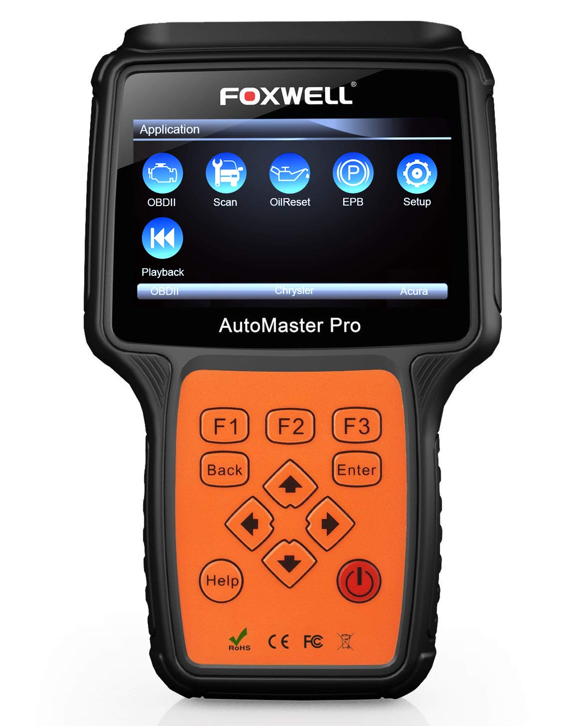 Amazon.com: FOXWELL NT614 OBDII Car Diagnostic Tool Transmission Engine ABS  Airbag EPB Tool with Oil Light Reset: Automotive