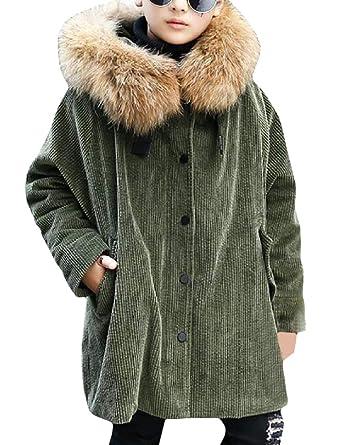 5729d0af8129 Amazon.com  Sweatwater Boys Girls Winter Corduroy Fleece Lined Faux ...