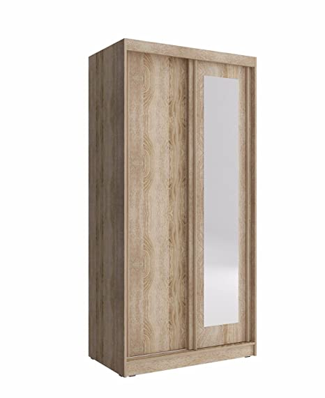 Armadio 100 Cm Ante Scorrevoli.Checo Home And Garden Fast Delivery 100 Cm Wide Sliding 2 Doors