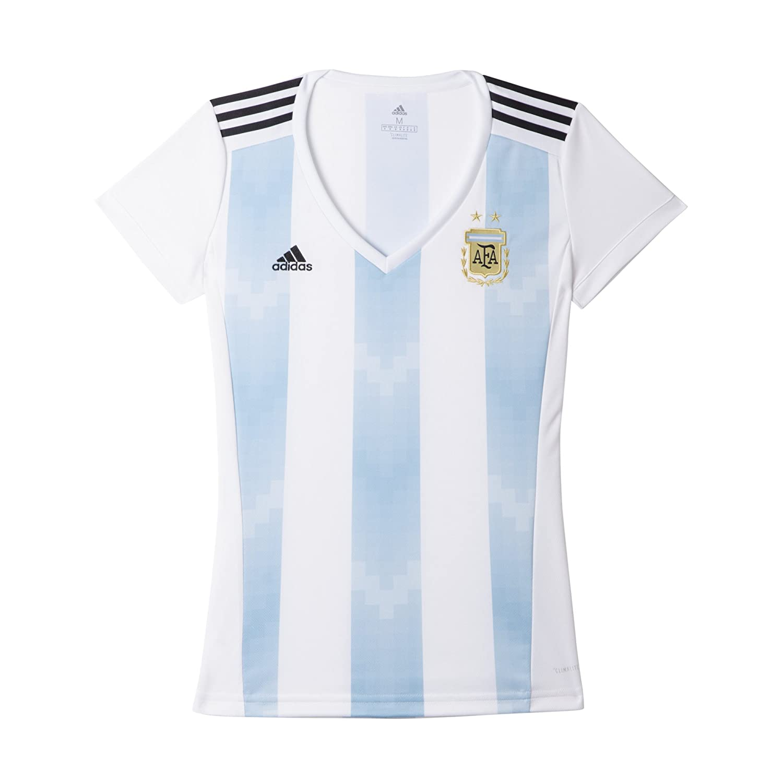 World Cup Soccer Womens adidas 2018 FIFA World Cup Women's Argentina Home Jersey BQ9302-P