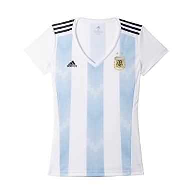 a6f6a7f648c Amazon.com  adidas Women s Soccer Argentina Home Jersey  Clothing