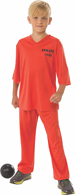 Rubie's Inmate Child's Costume, Large