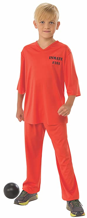 Rubie's Inmate Child's Costume, Medium