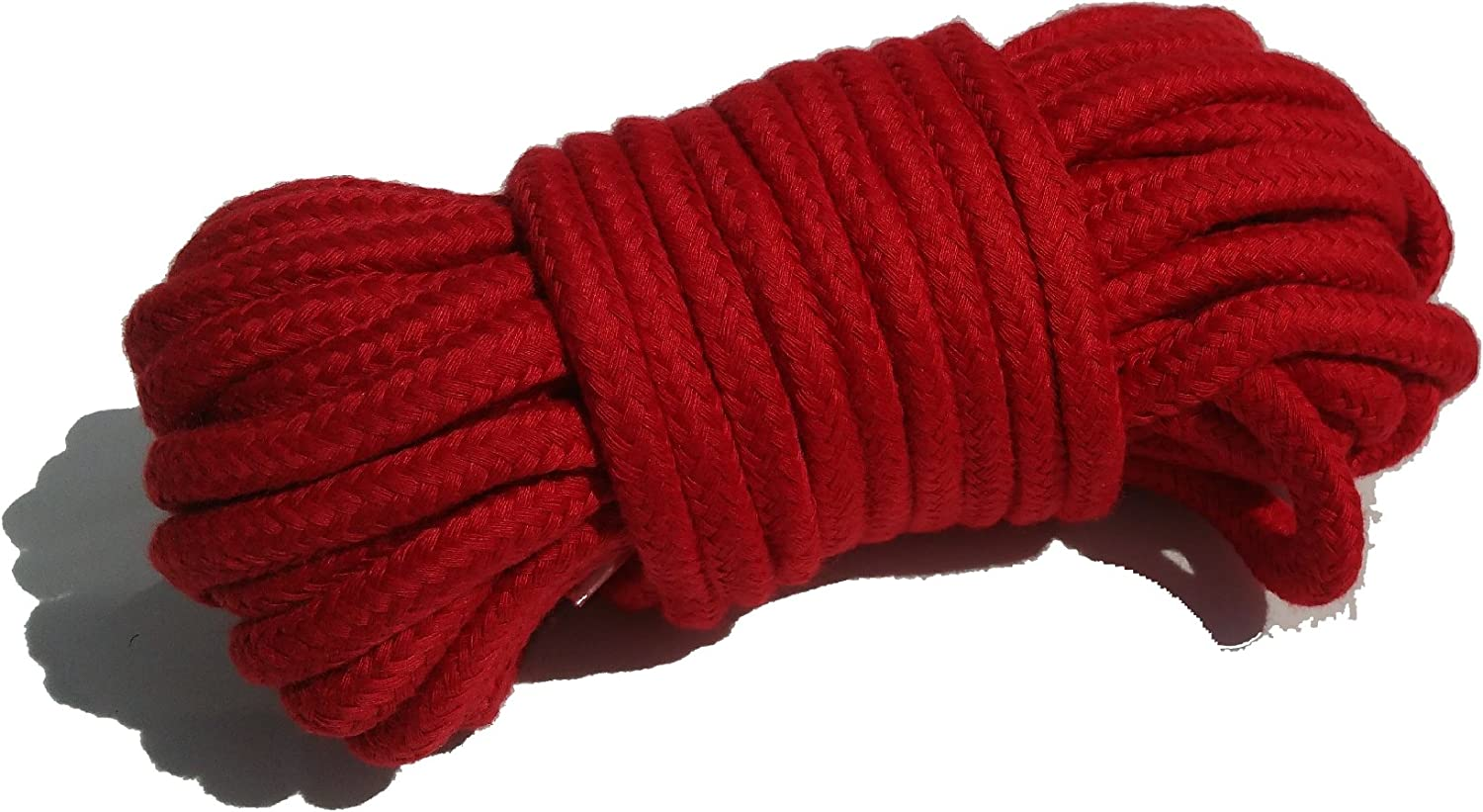 Red Soft Rope 10 Meters Multi-Purpose Washable by Cufz