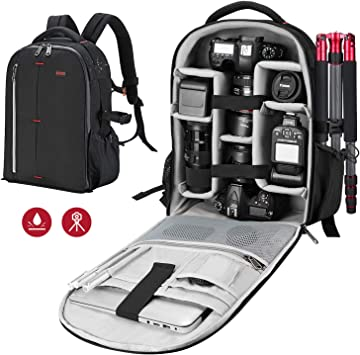 Amazon Com Esddi Camera Bag Backpack Professional For Dslr Slr Mirrorless Camera Waterproof Camera Case Compatible For Sony Canon Nikon Camera And Lens Tripod Accessories