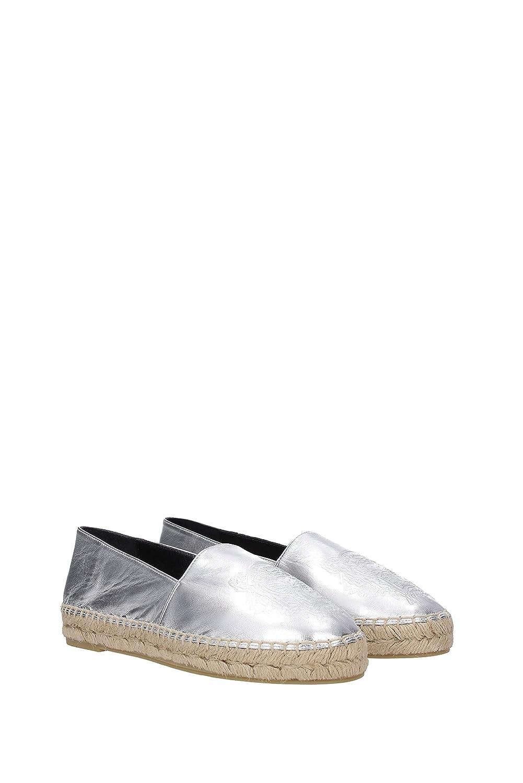 Kenzo Espadrilles Damen Silber - Leder (L532ES180K62) EU Silber Damen 317dbb