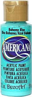 product image for DecoArt Americana Acrylic Paint, 2-Ounce, Bahaman Blue (DA255-3)