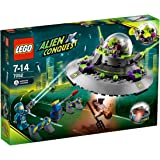 Lego alien conquest 7052 l'ovni kidnappeur