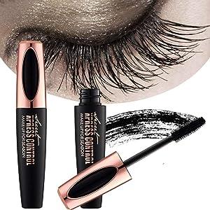 ZDU 4D Silk Fiber Eyelash Mascara Extension Makeup Black Cold Waterproof Kit Eye Lashes