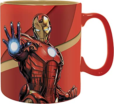 350 ml Taza 3D ABYstyle Marvel Avengers