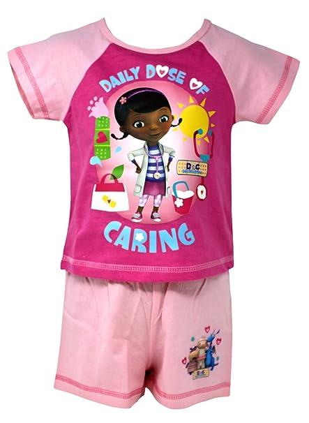 """Camisa y pantalón corto para niña, certificada oficialmente como """"Daily Dose of Caring"""""""