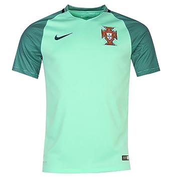 Nike Portugal Away Jersey 2016 para hombre verde camiseta de fútbol Top Talla:XXL: Amazon.es: Deportes y aire libre