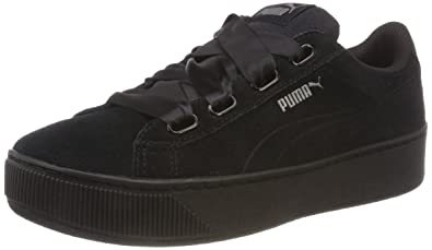 e9b2ef03f5de5c Puma Women s Vikky Platform Ribbon S Low-Top Sneakers