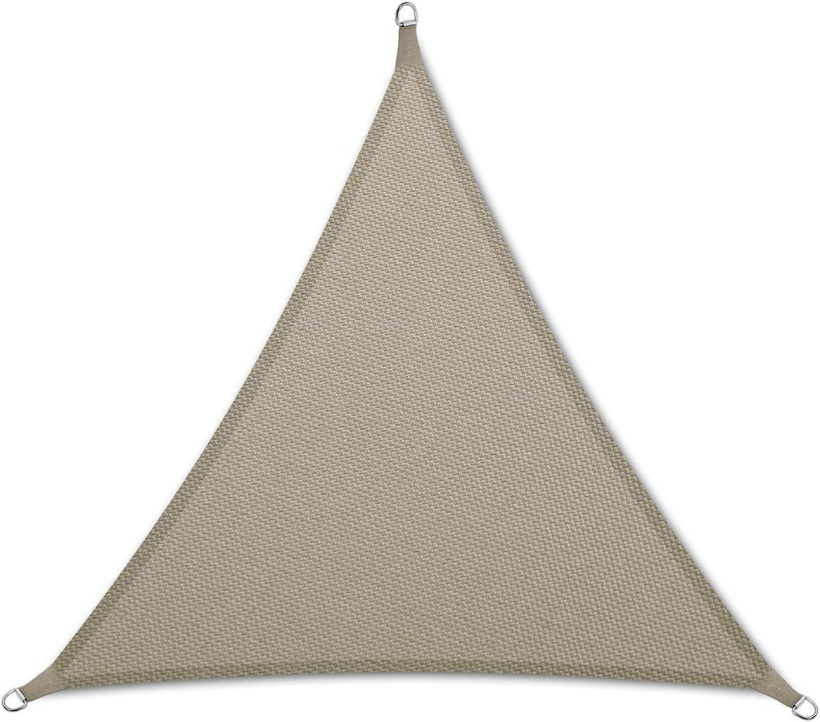 casa pura Sun Shade Sail Sun Shades for Patio and Garden Triangle Multiple Sizes Gray – 12 x 12 x 12