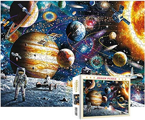 1000 Stück Space Puzzle Kinder Adult Puzzle Toy