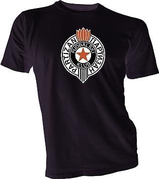 FK Partizan Belgrado Serbia UEFA de fútbol Fútbol Camiseta Negro Nuevo tamaños S-4 X L: Amazon.es: Deportes y aire libre