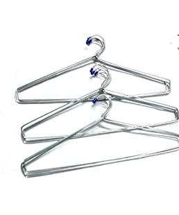 Blumfye Heavy Stainless Steel Cloth Hanger -Set of 24