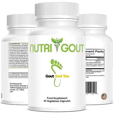 NutriGout – Fórmula de apoyo de ácido úrico de GoutandYou – Hecho en los Estados Unidos