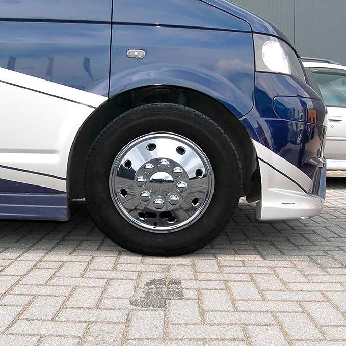 Leisurewize Peugeot Boxer 15 Universal Deep Dish Chrome Van Wheel Trims x4