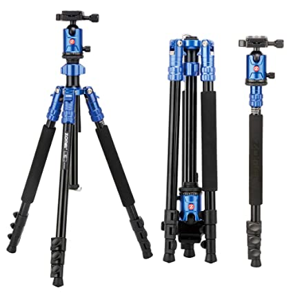 Review Camera Tripod, ZOMEi 63