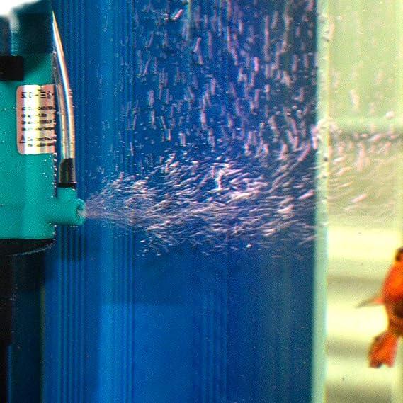 Xinjin-C Bomba de Agua Sumergible, 3 en 1 Mini Bomba Multifuncional Multifuncional para Acuario Estanque de Estanque Pecera de Agua Característica de la ...