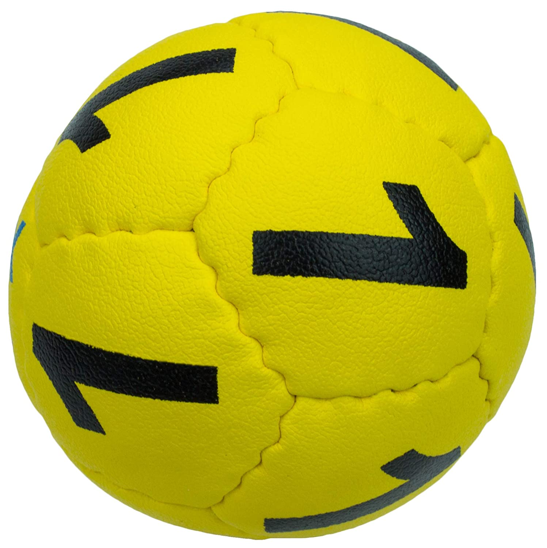 Medium Sport Pro Wholesale Swax Lax Goalie Yellow Ball 3 Pack Red Drip