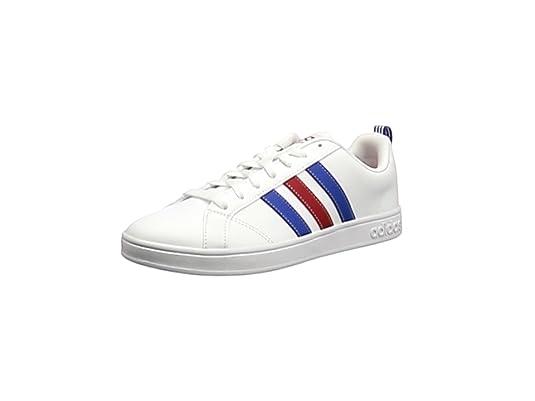adidas Vs Advantage, Zapatillas de Deporte para Hombre, Blanco (Footwear White/Blue
