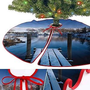 YOYI-Home Christmas Tree Skirts, House Decor Collection Tree Skirts 48