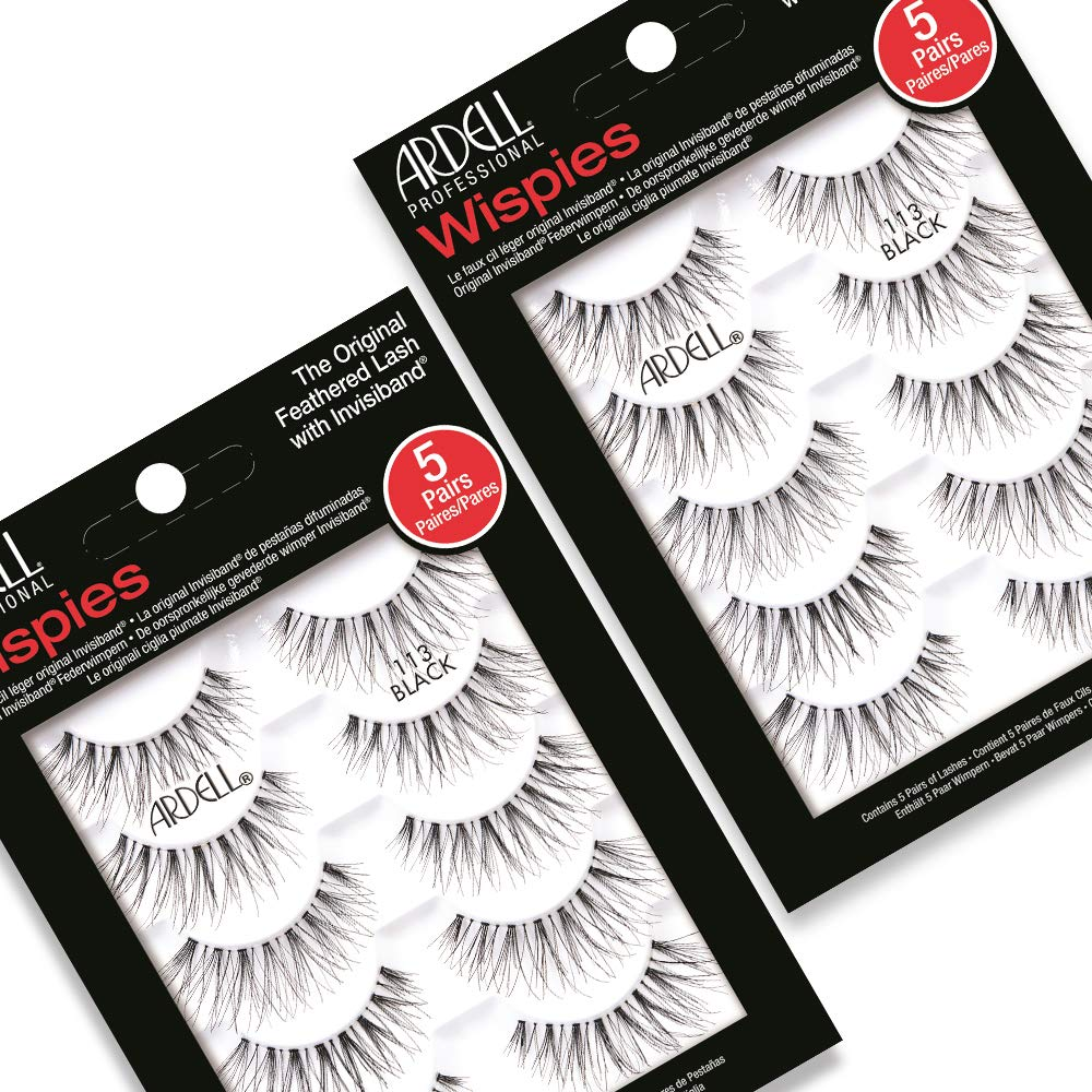 Ardell Wispies 113, 5 Pairs x 2 Pack