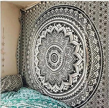 150 gold 150 RAILONCH Multicolored indiano parete tappeto ARAZZO MANDALA panno panno Gobelin Tapestry Goa dell India Hippie di//Stile Boho come decorazione da parete//copriletto