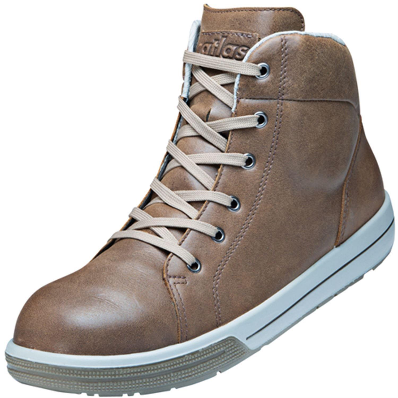 Atlas , Chaussures de sécurité pour homme Marron Marron 40 40 Marron EU 8647e1