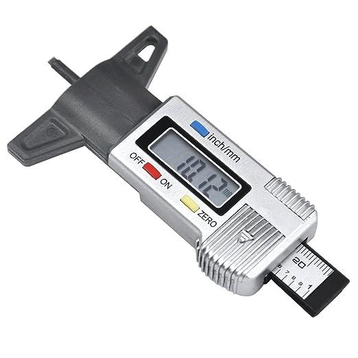 15 opinioni per TRIXES Calibro misuratore metrico digitale di profondità battistrada pneumatici