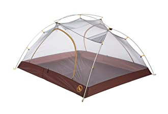 This best backpacking tent image shows the Big Agnes Happy Hooligan 2-person tent without a rain fly