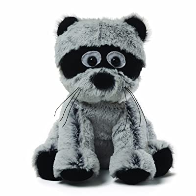GUND Mushmellows Seated Racoon Plush: Toys & Games
