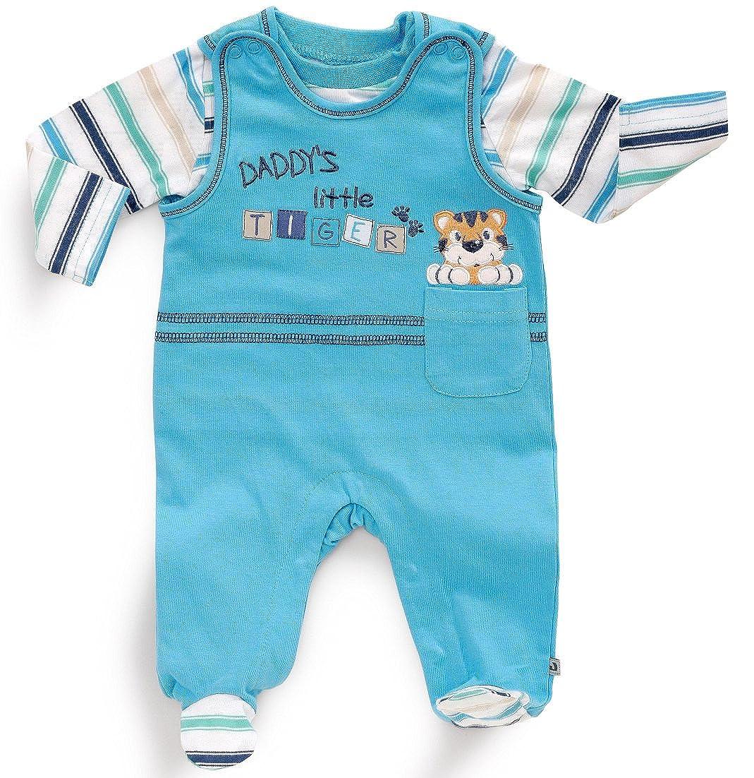 Jungen Strampler-Set 341544 Jacky Baby 62 Blau Gr