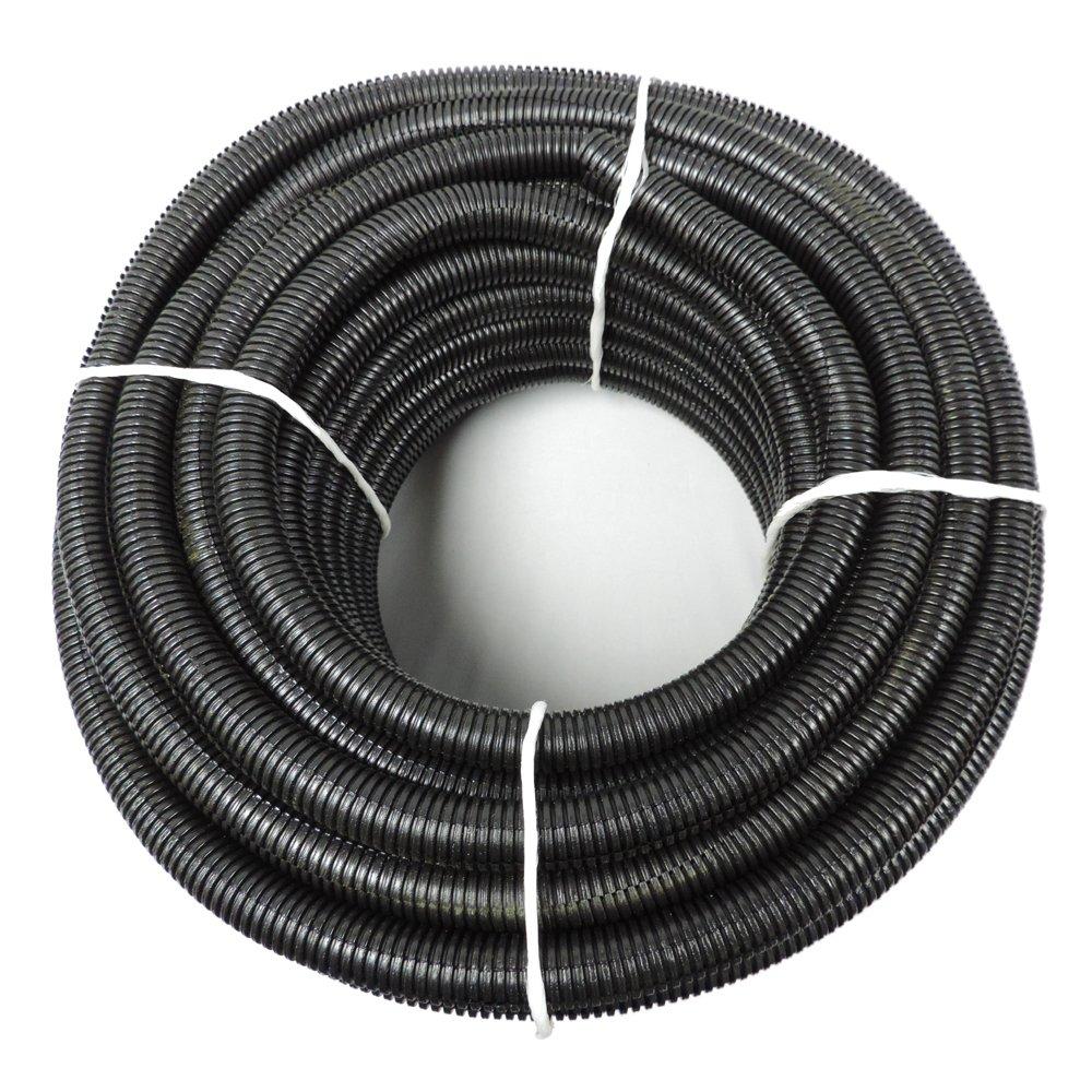 1 X 100 Hydromaxx Flexible Polyethylene Split Tubing Black Corrugated Wire Loom Amazon Com Industrial Scientific
