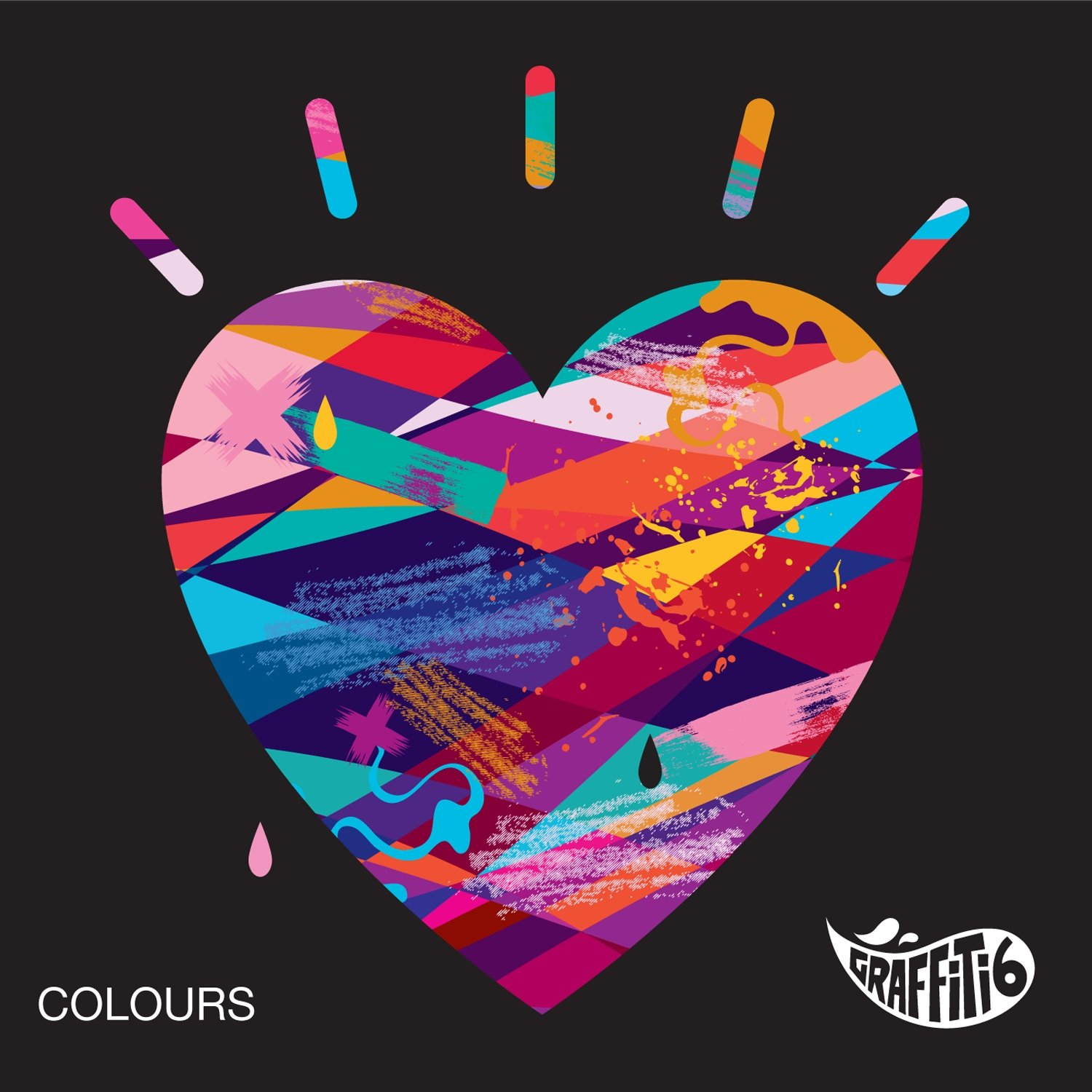 Graffiti6 colours amazon com music