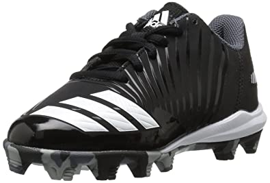 big sale 002d9 2aed4 adidas Men s Icon MD Baseball Shoe, Black White Onix, 1 M US