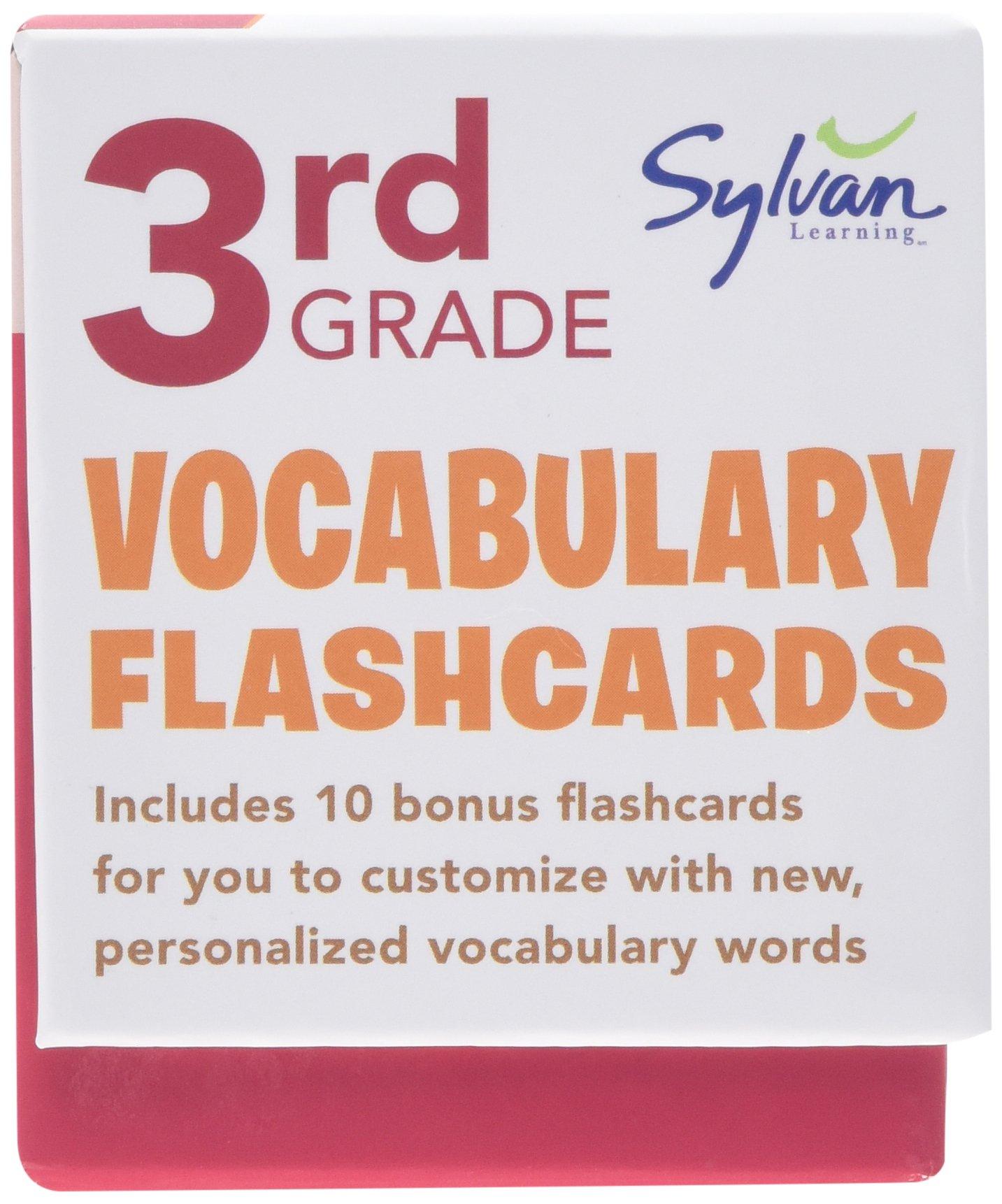 Amazoncom 3rd Grade Vocabulary Flashcards 240 Flashcards For