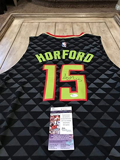 on sale aa092 e88b4 Al Horford Autographed Signed Memorabilia Jersey JSA Coa ...