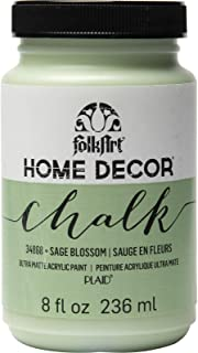 product image for FolkArt Home Décor Chalk Finish Acrylic Paint, 8oz, 8 ounce, Sage Blossom