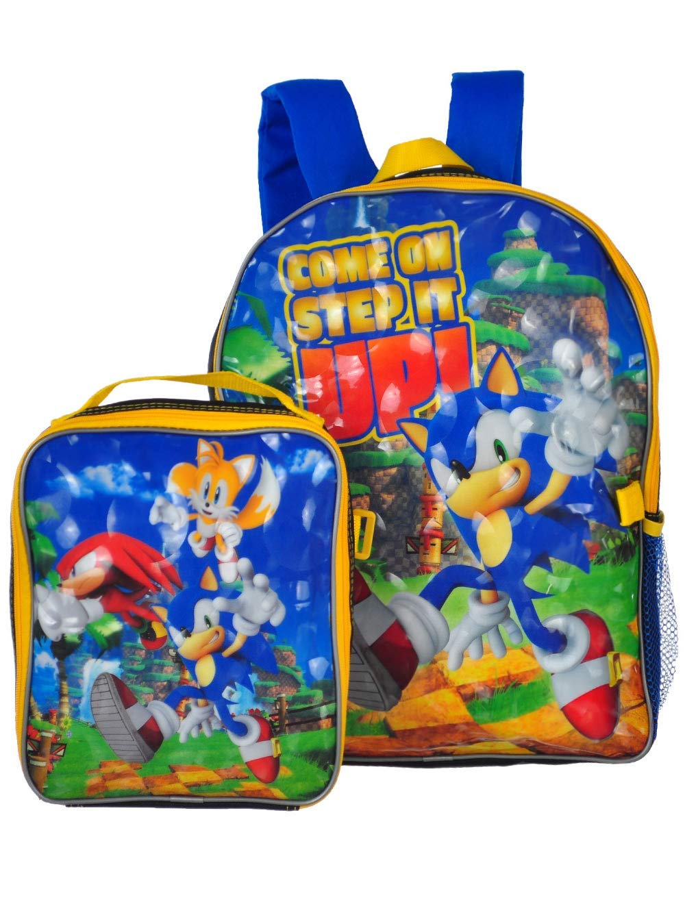 Sonic the Hedgehog Backpack and Lunchbox - blue/multi, one size