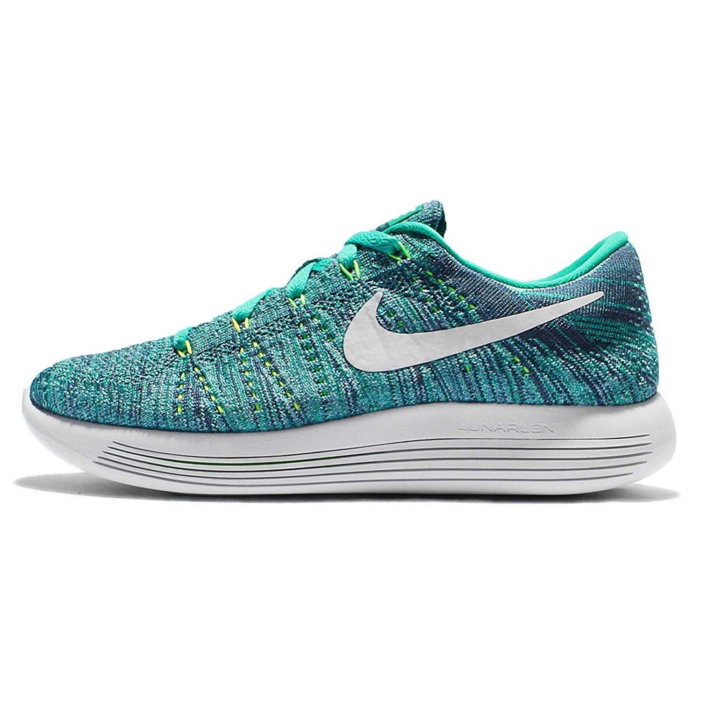 NIKE Women's Lunarepic Low Flyknit Running Shoes B01L39FNPS 10 B(M) US Clear Jade/White/Ocean Fog/Blue Cap