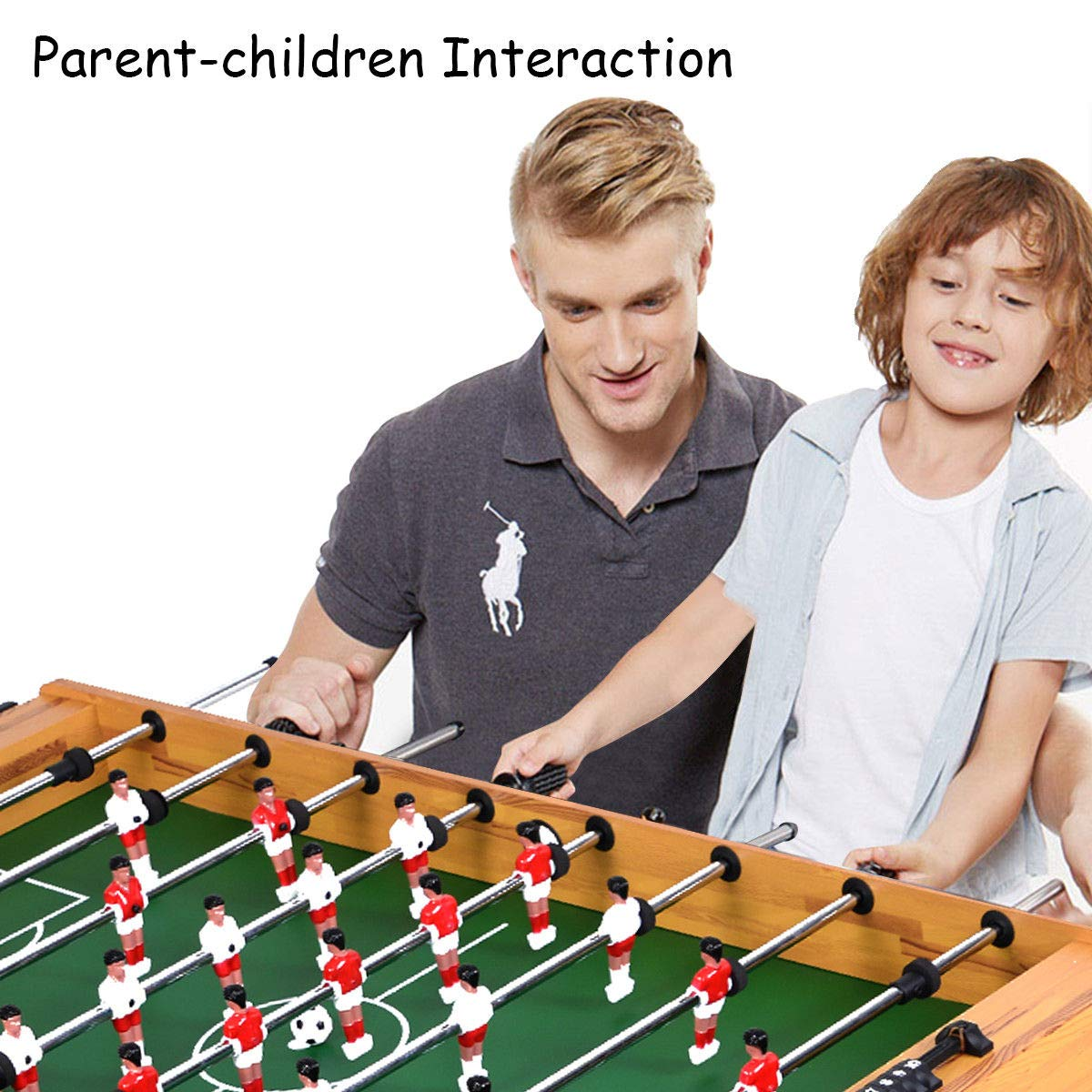 Giantex Foosball Soccer Table 48'' Competition Sized Arcade Game Room Hockey Family Sport by Giantex (Image #3)