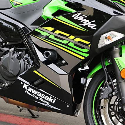 Shogun Kawasaki Ninja 400 Z400 Z 400 2018 2019 2020 NO Cut Black (Also FITS ABS Model) - 750-4159 - Made in The USA