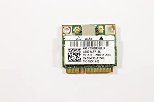 Dell Mini PCI Express Half Height KVCX1 WLAN WiFi 802.11n Wireless Card Latitude E6410