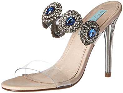 32adfb306c84a Blue by Betsey Johnson Women s SB-Owen Heeled Sandal