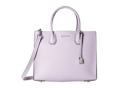 ff0a15e02041 Amazon.com  MICHAEL Michael Kors Studio Mercer Large Convertible Tote  (Light Quartz)  Shoes