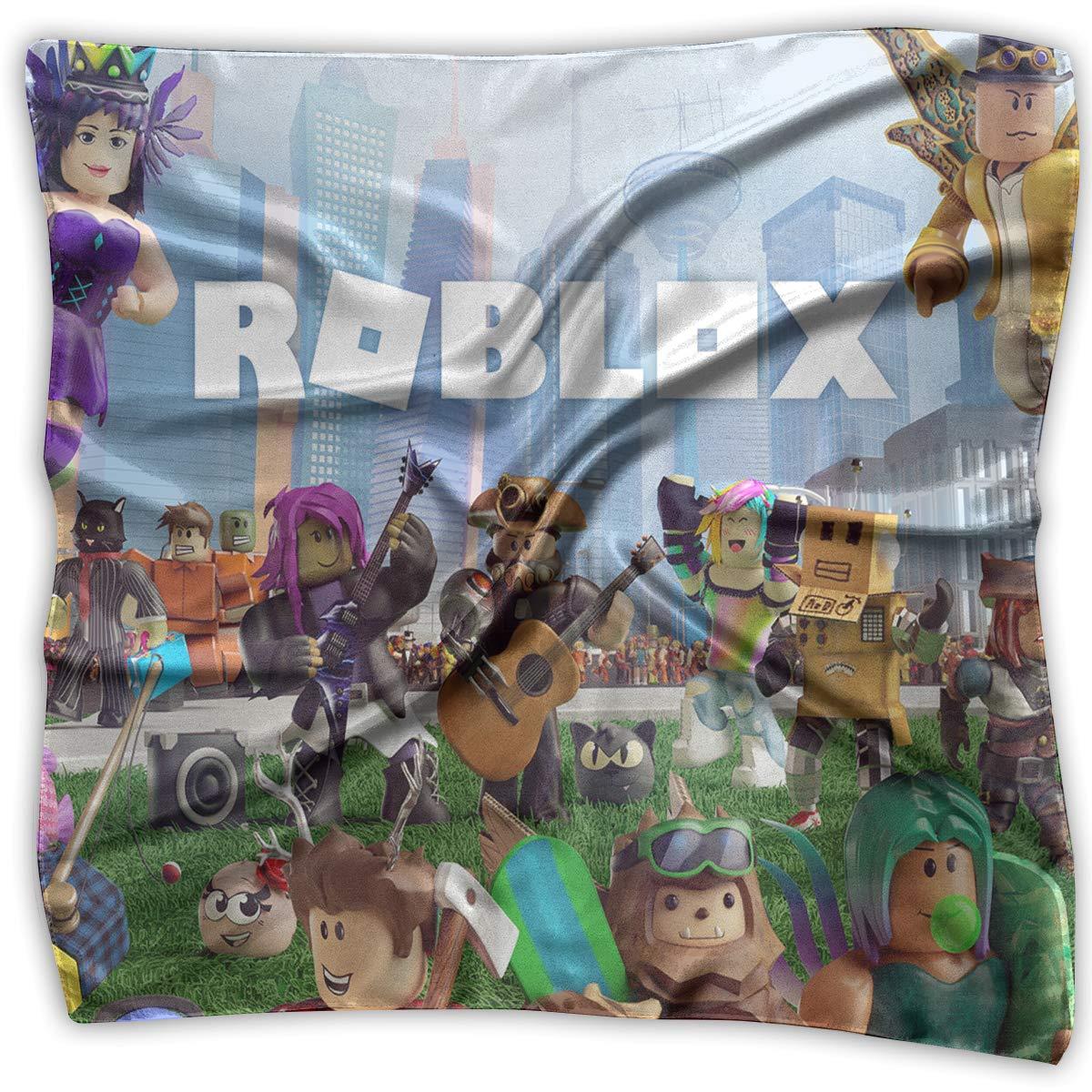 Amazoncom Roblox Feature Neck Scarf Square Silk Party - amazoncom roblox neck scarf square silk party